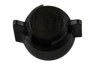 Quick couple nozzle blanking cap