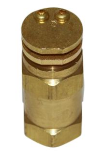 # 5 boomless nozzle 1/2 inch brass
