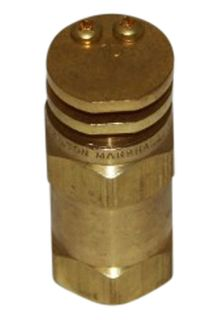 #10 boomless nozzle 1/2 inch brass