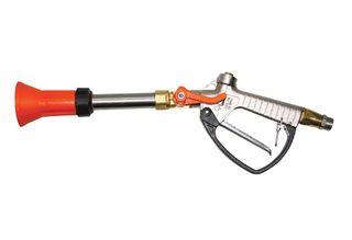 Turbo 400 spray gun with metal handle
