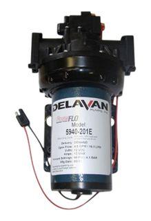 Delavan 5940 12V pump | 15.2 L/min 60psi