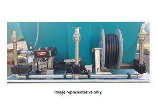 2 x Deflector sprayer kit with actuators
