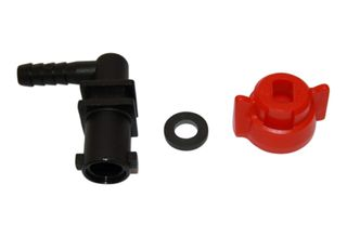 Nozzle holder elbow (1 way) w/ 10mm barb