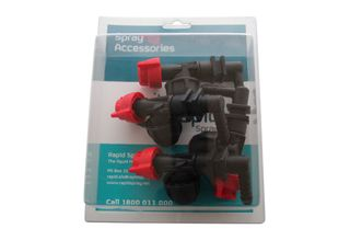 Pack 4 | Nozzle holder w/ check valve