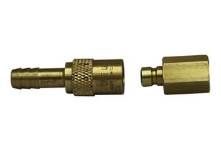 Brass quick fit connector 10mm