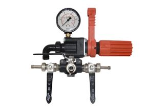 Sting 3 way pressure regulator & gauge