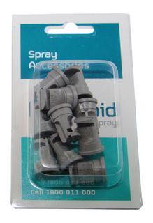 Pack 10 | Deflector nozzle 140º .03