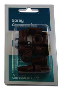 Pack 10 | Deflector nozzle 140º .025