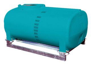 2000L low profile spray tank