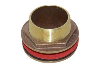 3 inch brass tank fitting