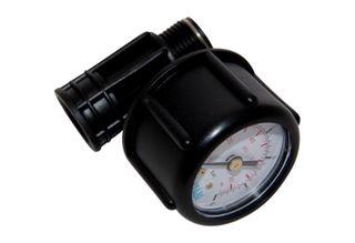 Pressure gauge for lance