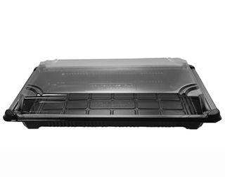 Vegware Sushi Combo Container No.4 PLA (24.5 x 15 x 4cm) Ctn 300