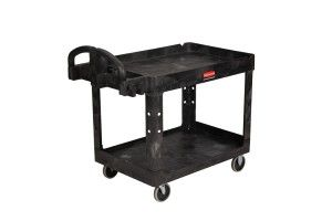 Rubbermaid 2-Shelf Utility Cart