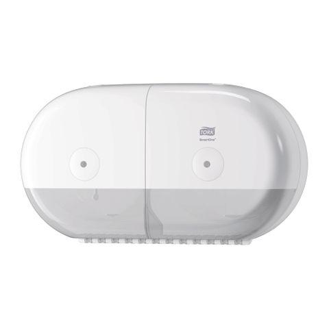 Tork SmartOne Twin Mini Toilet Elevation Dispenser White