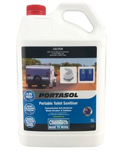Portasol Portable Toilet  Sanitiser 5L