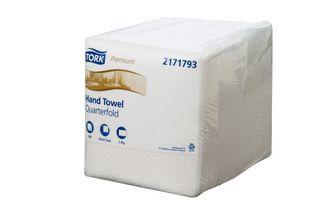 Tork Extra Soft Guest Hand Towel Premium 4 x100 pks
