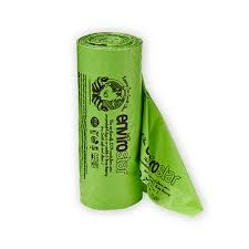 Envirostar Commercial Council Compostable Dog Waste Bags Singlet Style 400mm x 200mm Roll of 225