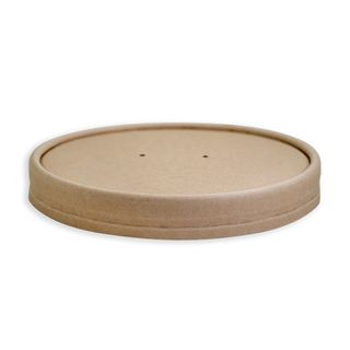 Future Friendly Bamboo Paper Lid 12/16/24oz Slv 25