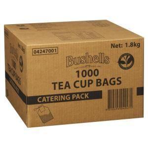 Tea Bags Bushells Unwrapped Ctn 1000