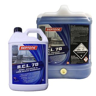 Septone RCL 70 Rust, Calcium & Lime Scale Remover 5L