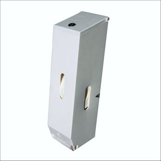 Toilet Roll Dispenser 3 Rolls ABS plastic White