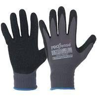 Paramount Glove Black Panther Latex Palm Size 9