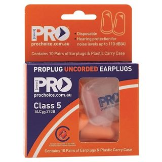 Paramount Probullet Disposable Uncorded Earplugs 10pk