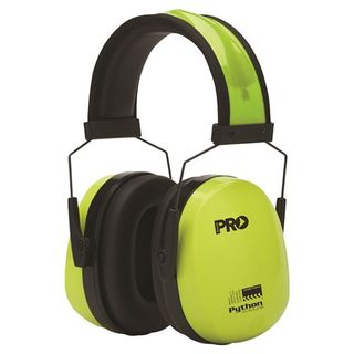 Paramount Pro Choice Safety Gear Python Slimline Earmuffs Class 5, -31db
