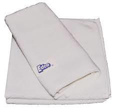 Edco Microfibre Cloth White 3pk