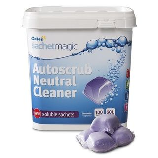 Sachet Magic Autoscrub Neutral Cleaner 100 sachets/bucket