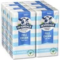 Milk Portions Devondale UHT 200ml Ctn 24