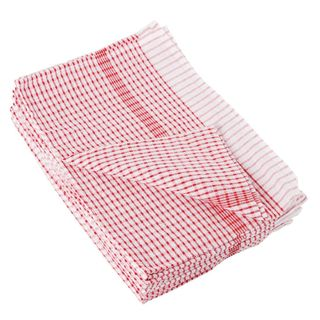 Vogue Wonderdry Red Tea Towels Pack10