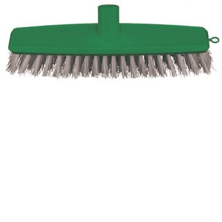 Broom Floor Scrub Green 300mm - Head Only B-12426-G