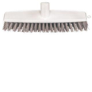 Broom Floor Scrub White 300mm - Head Only B-12426