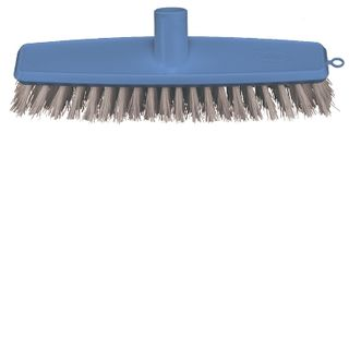 Broom Floor Scrub Blue 300mm - Head Only B-12426-B