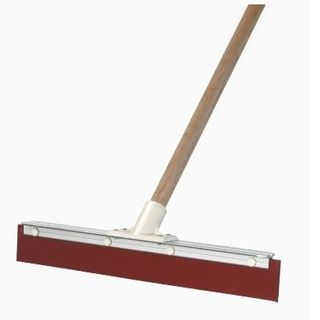 Squeegee 450mm Aluminium  Back with Handle  B-13111F
