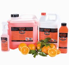 Orange Squirt Spray N Wipe 5Lt CHCR-40015A