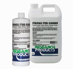 Stainless Steel Cleaner Research Products 1Lt CHRC-601106