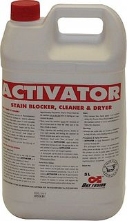 Dry Fusion Activator 5 Lt Cleaner, Stain Blocker & Deodoriser  CHRC-96115A