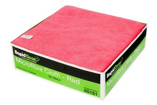 Microfibre Cloth Red RapidClean 65151 MF-020R