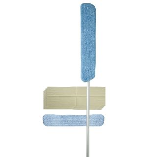 Mop Microfibre Flat 600mm Includes 2 Pads MF-012