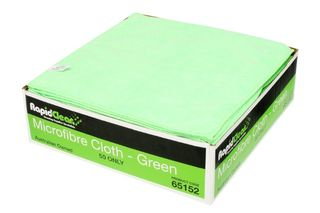 Microfibre Cloth Green RapidClean MF-020G