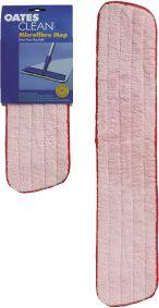 Mop Microfibre Flat Refill Red 60cm MF-015