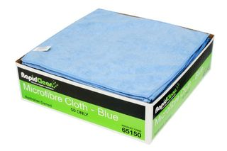 Microfibre Cloth Blue RapidClean 65150