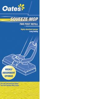 Oates Squeeze Mop Refill 2 Post  MS-002