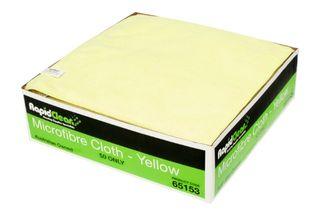 Microfibre Cloth Yellow RapidClean MF-020Y