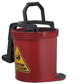 Mop Bucket Plastic 15Lt Red IW-008R