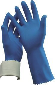 Rubber Glove Flock Lined 10 XL R-84-10