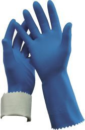 Rubber Glove Flock Lined 9-9.5 Large R-84-9