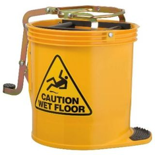 Mop Bucket Roller Yellow 15Lt Oates Rapid Clean IW-005RY